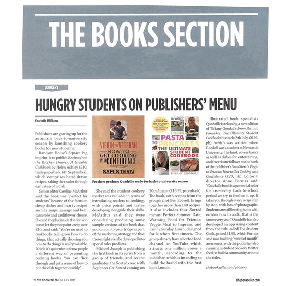 the bookseller feature